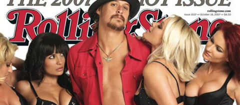 Kid Rock in Lazaro for Rolling Stone Magazine