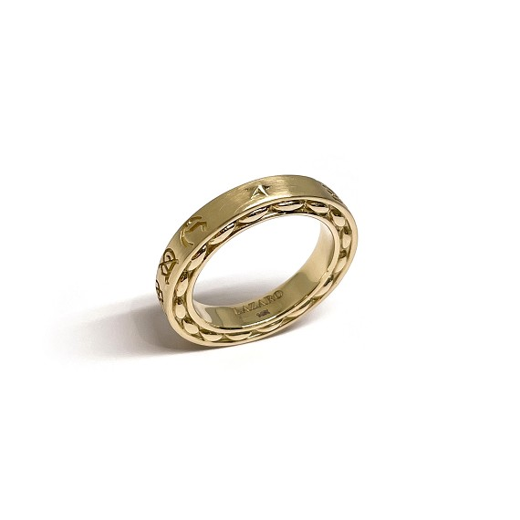 Sieze the Day Gold Ring