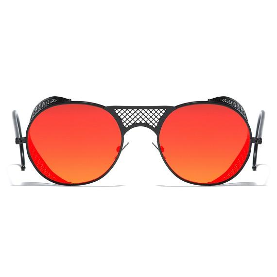 c4fd513aa43 Black Matte Red Mirror L.G.R. Lawrence Men s Sunglasses - Men s Sunglasses