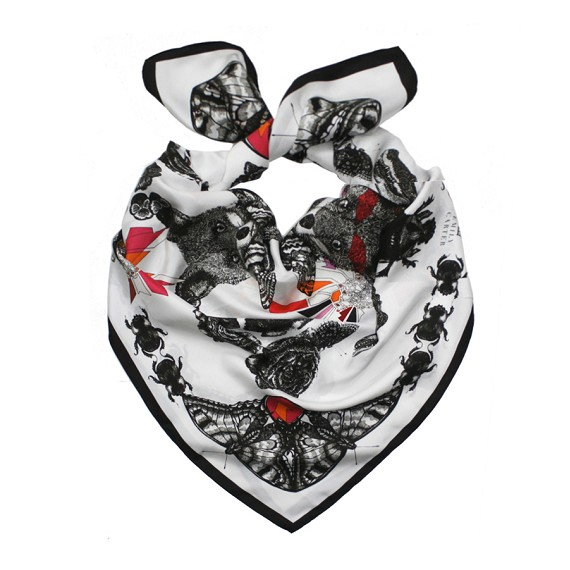 Emily Carter Limited Edition Fox Scarf
