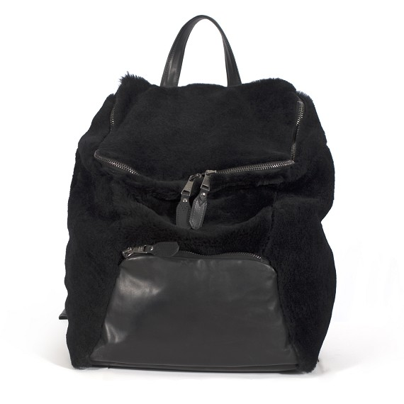 Giorgio Brato Dust Dark Reverse Sherling Backpack