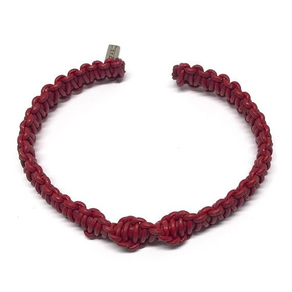 13e3ba1d29daf6 Hand Woven Leather Bracelet - Men's Bracelets   Lazaro SoHo