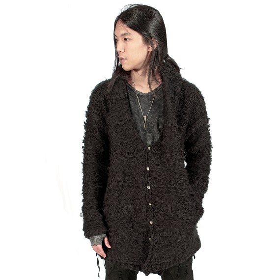 KMRii Mohair Button Sweater