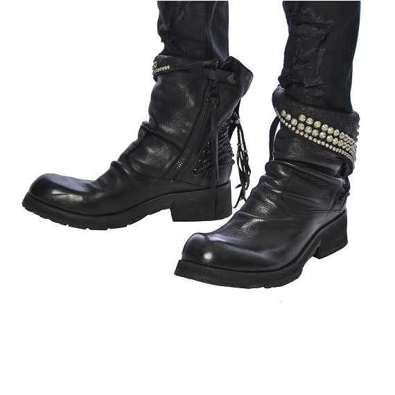 KMRii Silver Stud Boots