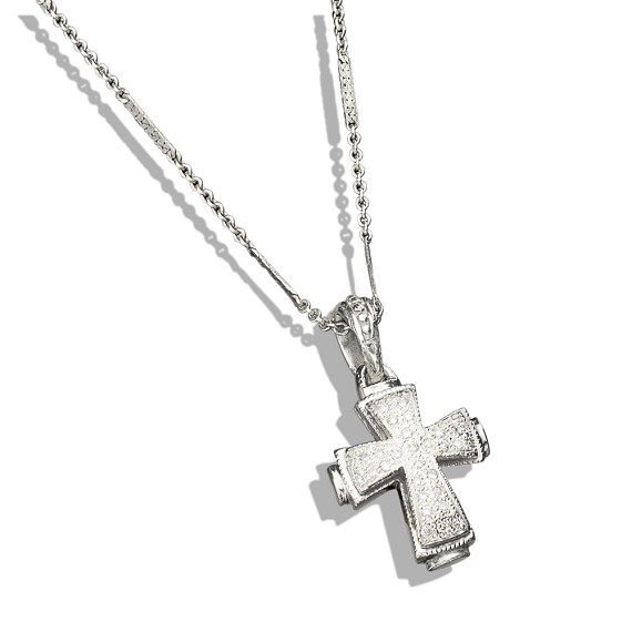eee408ceeef6 Pave Diamond Cross - Men s Jewelry