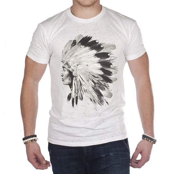 single native american indian men