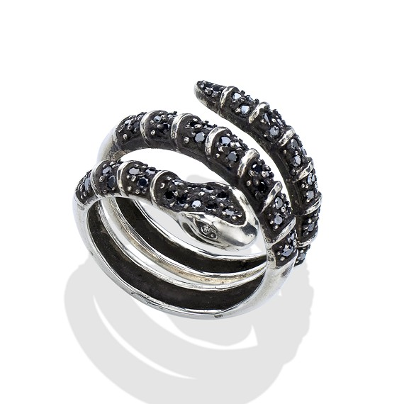 sterling rings snake wedding silver balinese statement ring design