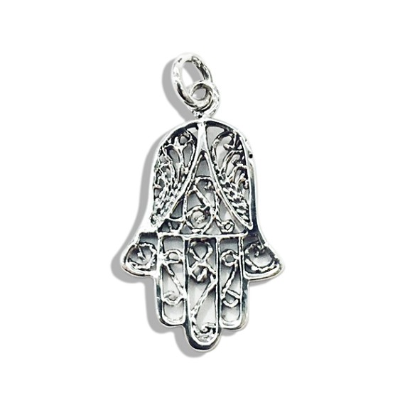 Silver Hand Of God Pendant