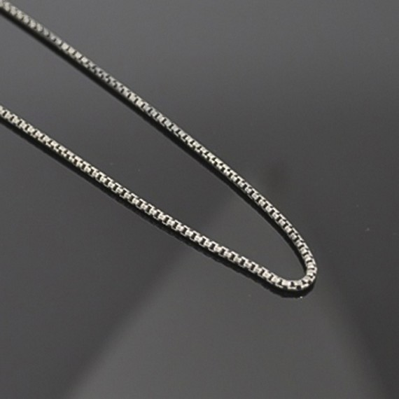 Silver Box Chain, Small