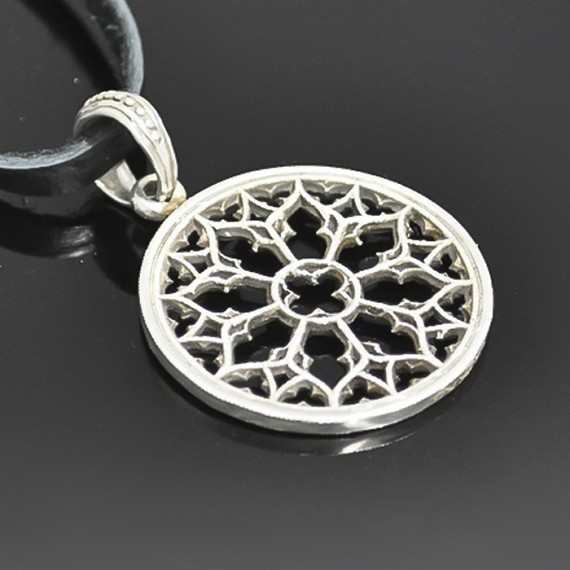 Silver Sacred Geometry Charm