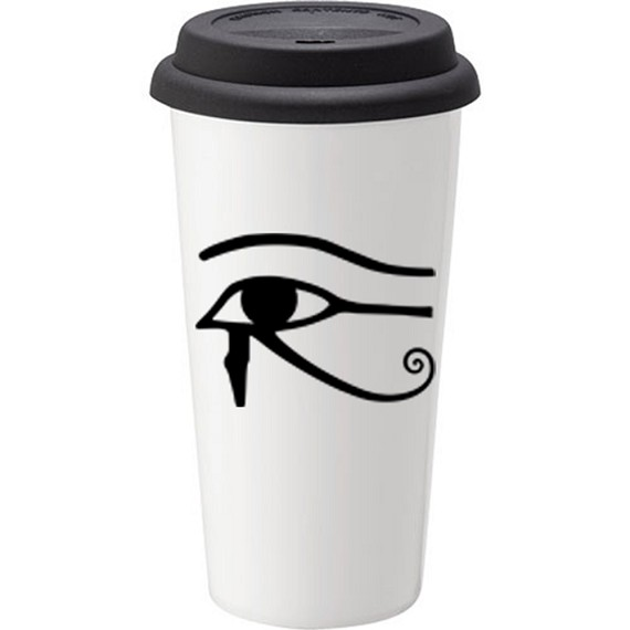 Eye of Horus Coffee Tumbler