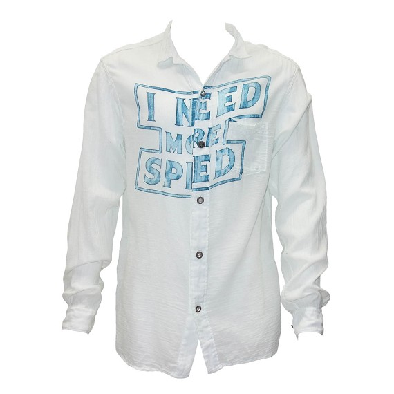 Need More Speed Button Down Shirt
