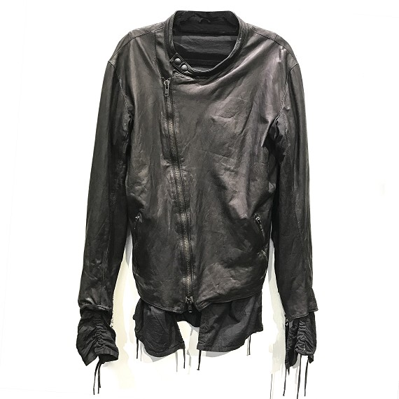 No, No, Yes! Mens' Black Leather Jacket