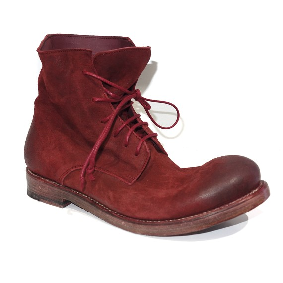Oxblood Waxed Suede Alec Boot