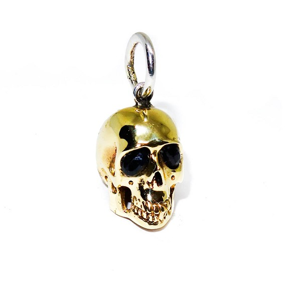 bronze skull pendant sapphire bronze skull pendant mozeypictures Images