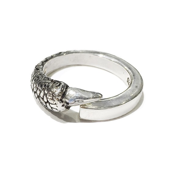 Silver Claw Men's Ring