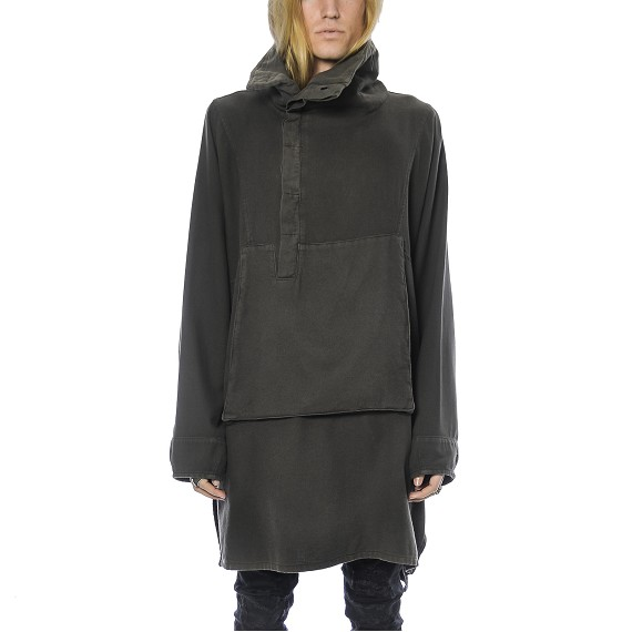 Syngman Cucala Zip Up Poncho