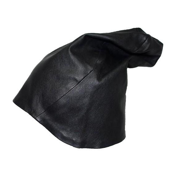 c40a3d2ca85 T.A.S Men s Black Sheepskin Nappa Leather Hat - Men s Hats