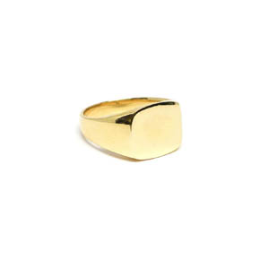 Classic Gold Men's Signet Ring