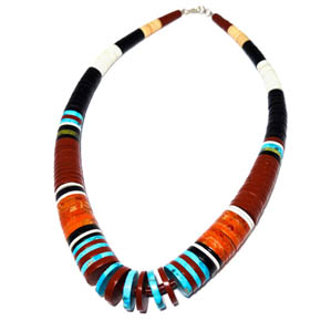 Native American Peacepipe Necklace