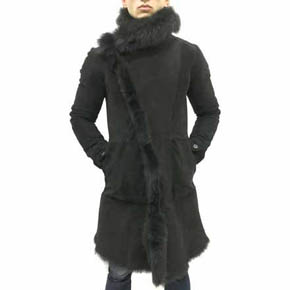 A.F Artefact Men's Shearling Coat