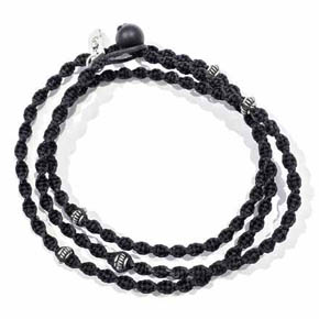 Agate & Hemp Men's Friendship Bracelet