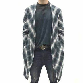 Blacklash Flannel Men's Cardigan