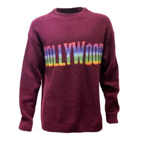 Burgundy Hollywood Laneus Pullover