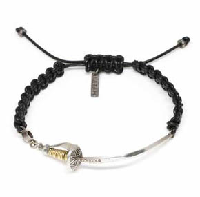 Dagger & Diamond Men's Bracelet