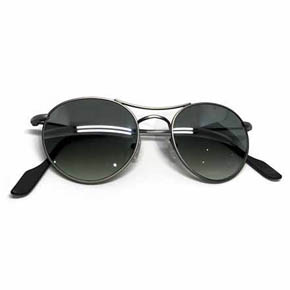 Flash Grey Gradient Green TYG Sunglasses