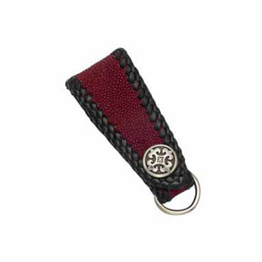 Fleur-De-Lis and Red Sting Ray Men's Key Fob