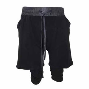 Gall Layered Sweat Shorts