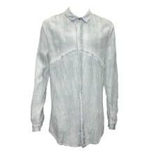 Ice Blue Desert Sun Button Down Shirt