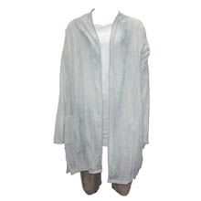 Ice Blue Desert Sun Open Cardigan