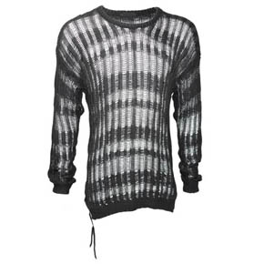 Kmrii Border Mesh Sweater