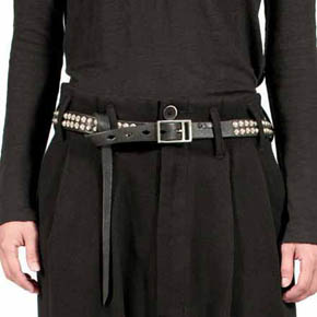 KMRii Leather Stud Belt