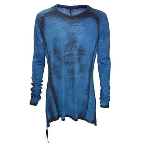 Kmrii Limited Edition Blue Long Sleeve Shirt
