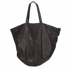 Last Conspiracy Oversized Leather Tote