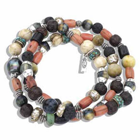 Limited Edition Multi-stone Wrap Bracelet