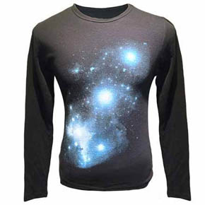 Long Sleeve Galaxy Thermal Shirt