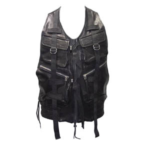 Leather Parachute KMRii Vest