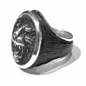 Limited Edition Silver Lion Ring