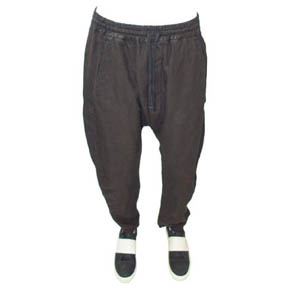 Mavranyma Black Linen Pants