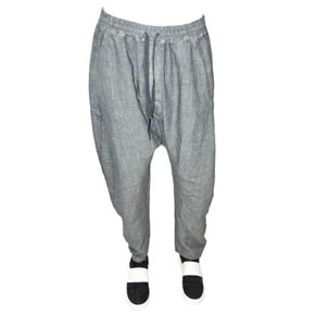 Mavranyma Grey Linen Pants