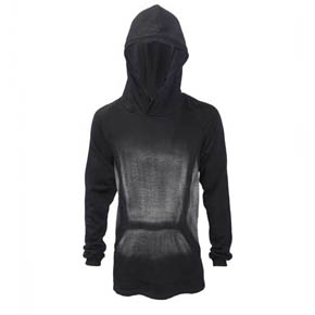 Men's Cotton Kmrii Discharged Hoodie