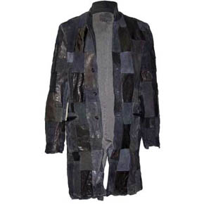 One Of A Kind Backlash Patchwork Leather Jacket