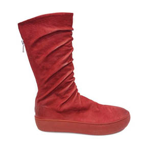 Oxblood Astri Mat Leather Sneaker Boot