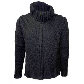 Syngman Cucala Wool Zip Up Sweater