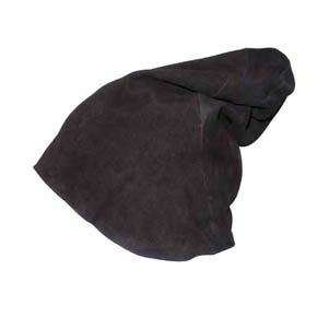 T.A.S Men's Black Nubuck Sheepskin Hat